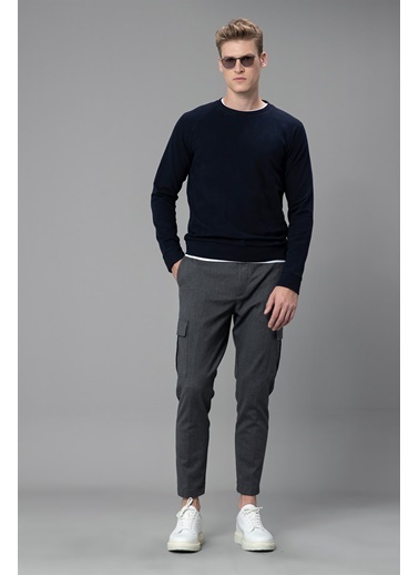 Lufian Sweatshirt Lacivert